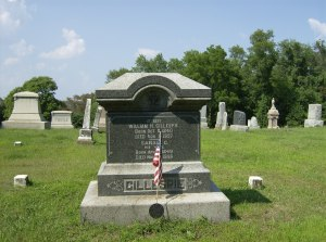 Grave of William H. Gillespie